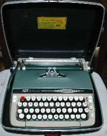 Vintage Smith Corona Gallaxy II  Manual typewriter