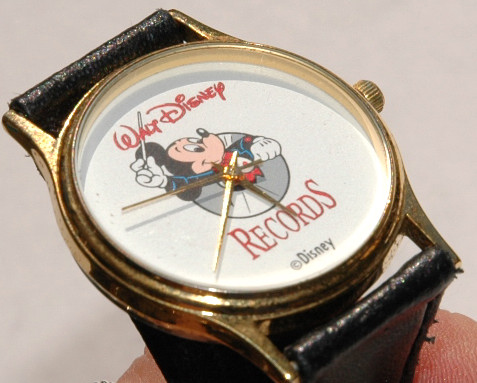Walt Disney Records Mickey Mouse Promo Watch