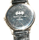 1989 Batman Watch by Fossil Black Yellow Face