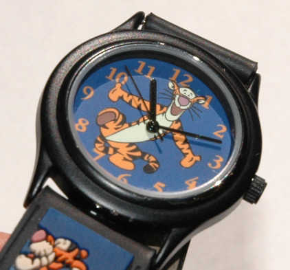 Tigger Watch Blue Dial with contrasting orange