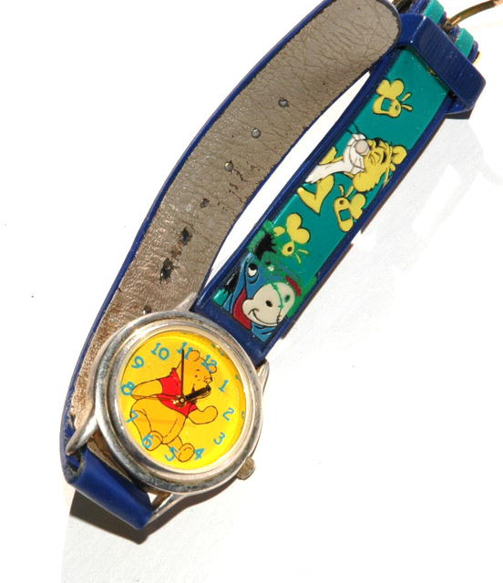 Winnie the Pooh Watch  Bright Sunny Yellow Dial
