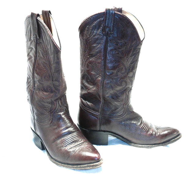 Dark Chocolate Brown Dan Post  Cowboy Boots