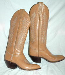 Cafe' Mocha (6Row) Tony Lama Cowgirl Boots 5.5  ** PRICE REDUCED!**