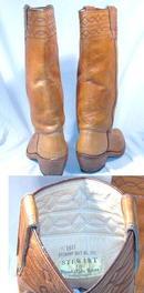 Stewart Hand Made Western Boots '77 M3.5 orW4.5