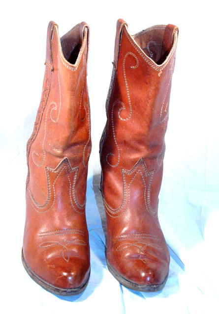 Vintage Western Pee Wee Style Cowgirl Boots sz6