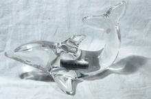 Villeroy & Boch Crystal Glass Dolphin Paper Weight