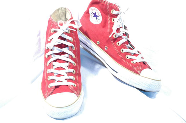 Barn Red Converse ChuckTaylor 1 star HT shoes mens 8