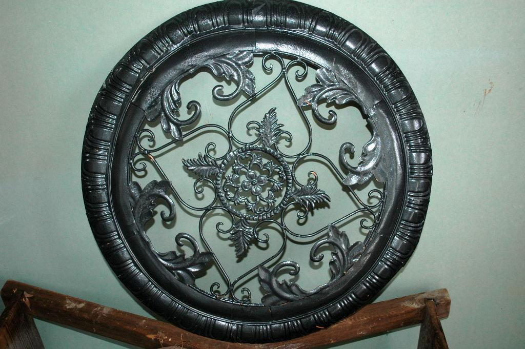 Architectural Ornamental Metal Round  Panel