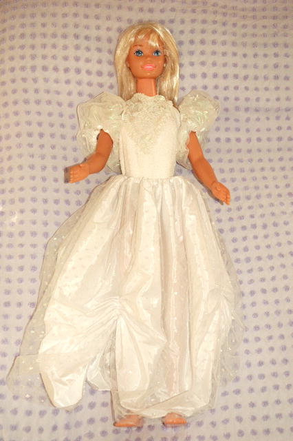 Just my size Barbie in wedding dress 37