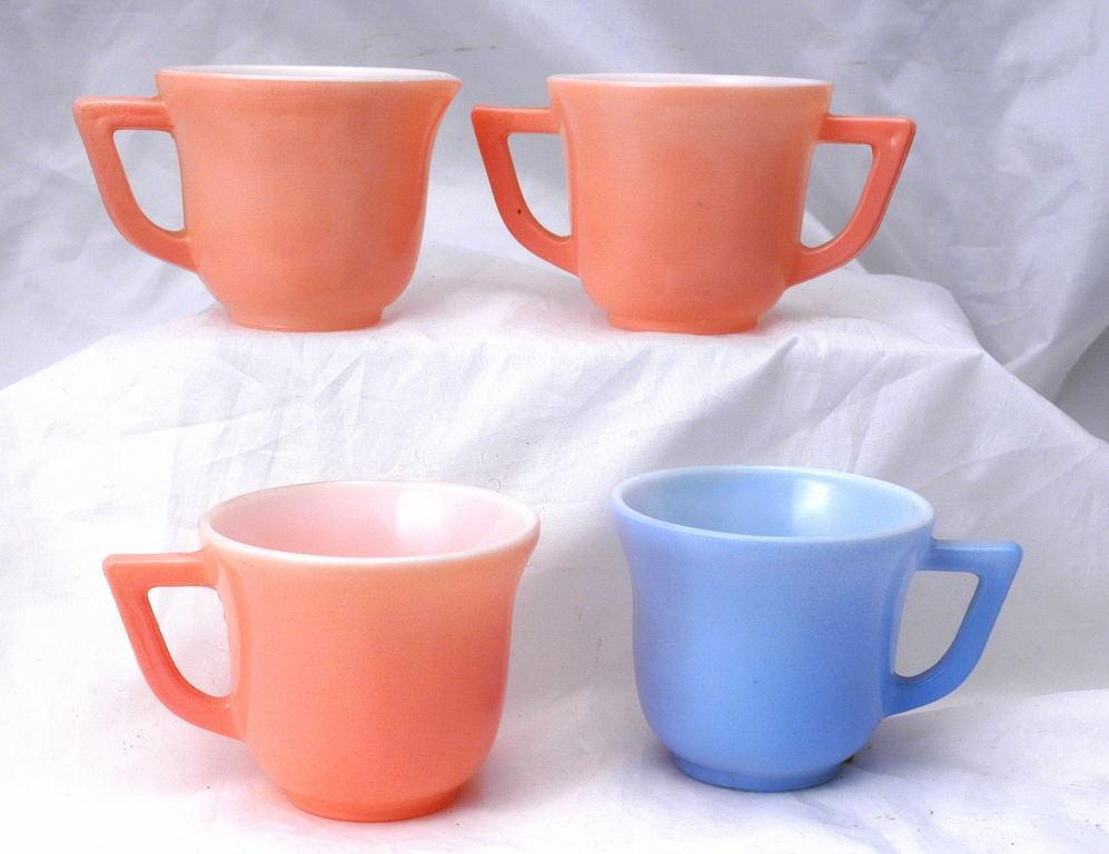 Hazel Atlas Children's 20th Century  Glass Tea Set
