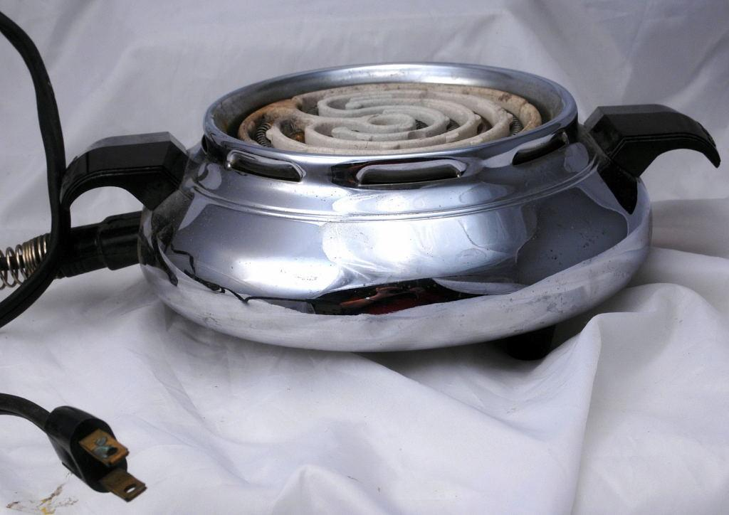 CORY Chrome  Hot Plate , Electric Burner with 2 settings