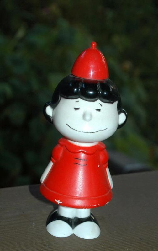 Avon Lucy from Peanuts Bubble Bath Container Bottle, Empty  Free Shipping