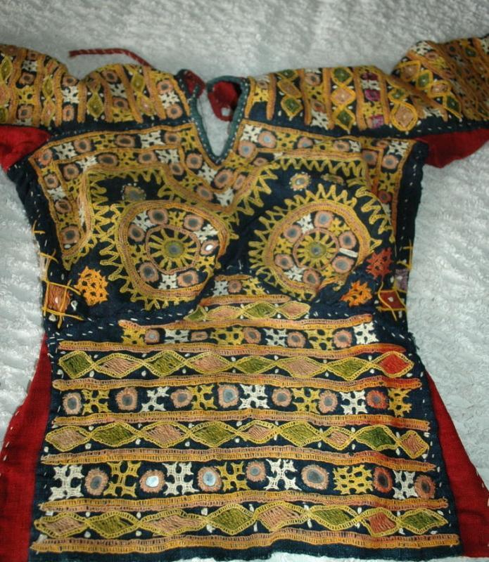 Fully hand-embroidered  Mirrored Banjaran  Choli  top