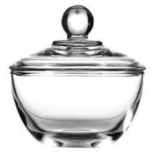 Anchor Hocking Presence 8 oz Glass Sugar Bowl or Candy Bowl  w/ Cover