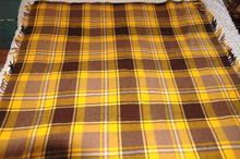 Vintage Plaid Stadium Blanket  Faribault Woolen  *PRICE REDUCTION!*