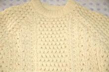 Authentic  Lisheen Irish Fisherman's Sweater