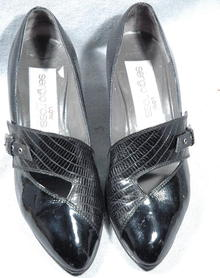 Sergio Rossi Italian Leather shoes for Low