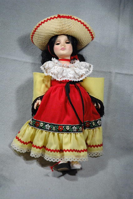 Effanbee Festive Mexican Doll in full costume