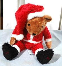Santa Bear 2002 Bon Bear from the Bon Marche dept store