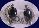 Sorrento Sterling & Hematite Earrings *