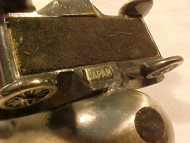 Antique  Pewter  Car Pipe Holder