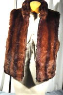 Coaco New York reversable Faux Fur Vest -Medium-