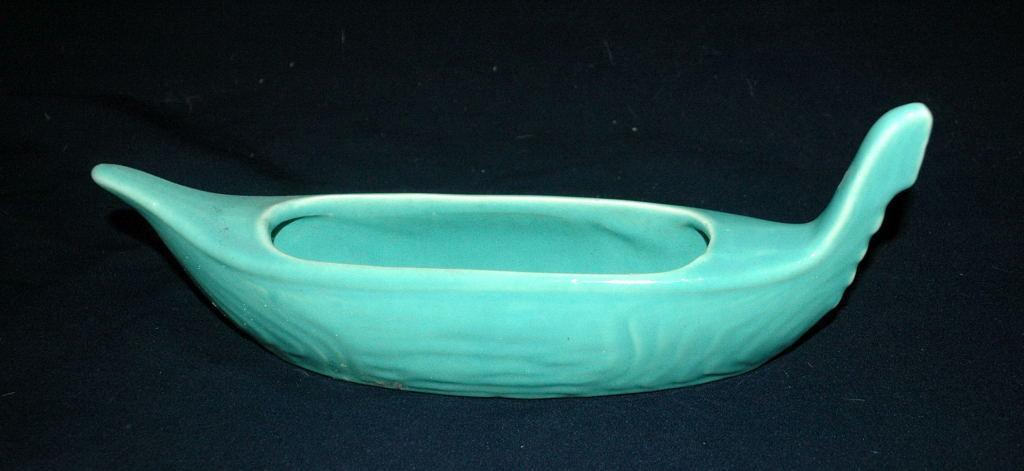 Vintage USA Gondola  Pottery Planter