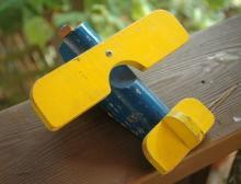 Vintage Wooden Toy Airplane, Carpet Cruiser by Carpenter Toys USA   FREE SHIPPING