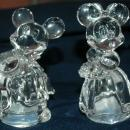 Lenox Mickey & Minnie  Wedding Salt & Pepper Set crafted  in Germany  FREE SHIPPING