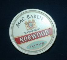 Mac Baren Golden Sweet Norwood Tobacco Tin