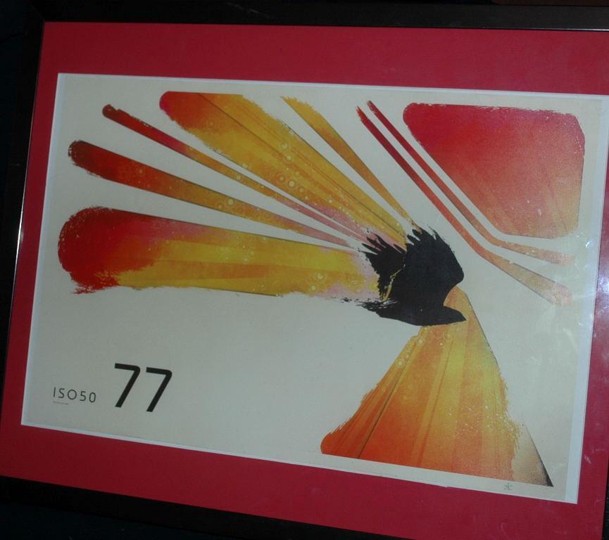 ISO50 77 AVIAN  Giclee Print   / Scott Hansen   Matted