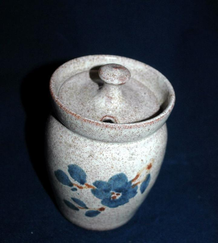 Old Time Pottery 1982 - Winthrop, Washington  Pottery Jam Jar