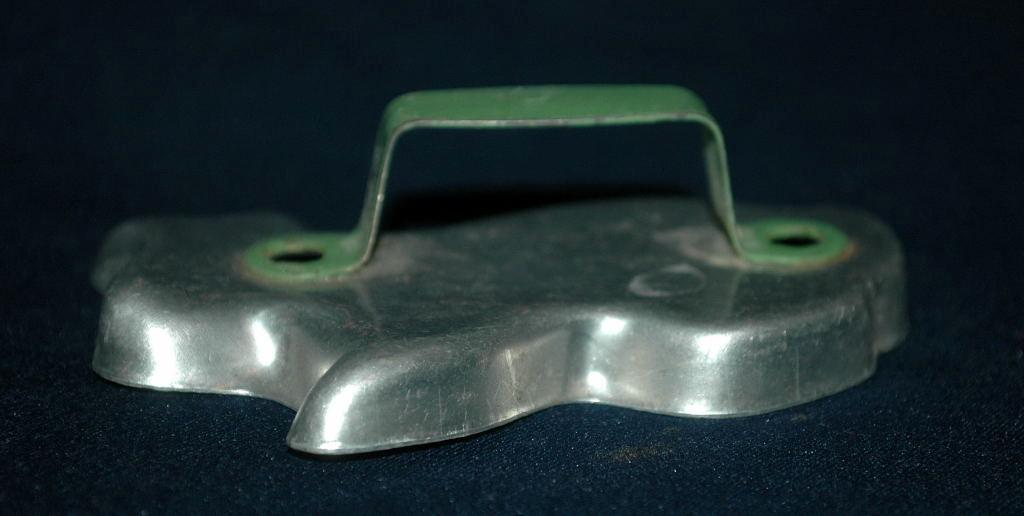 Bunny Rabbit Aluminum Cookie Cutter Green Painted Handle   FREE SHIPPING