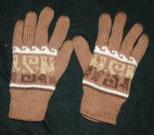 100%   Alpaca Gloves, Large size   Double Layered   Free Shipping