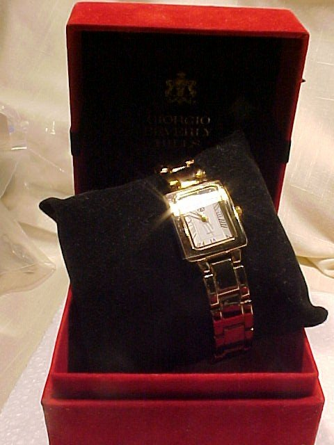 New In Box Giorgio of Beverly Hills Watch