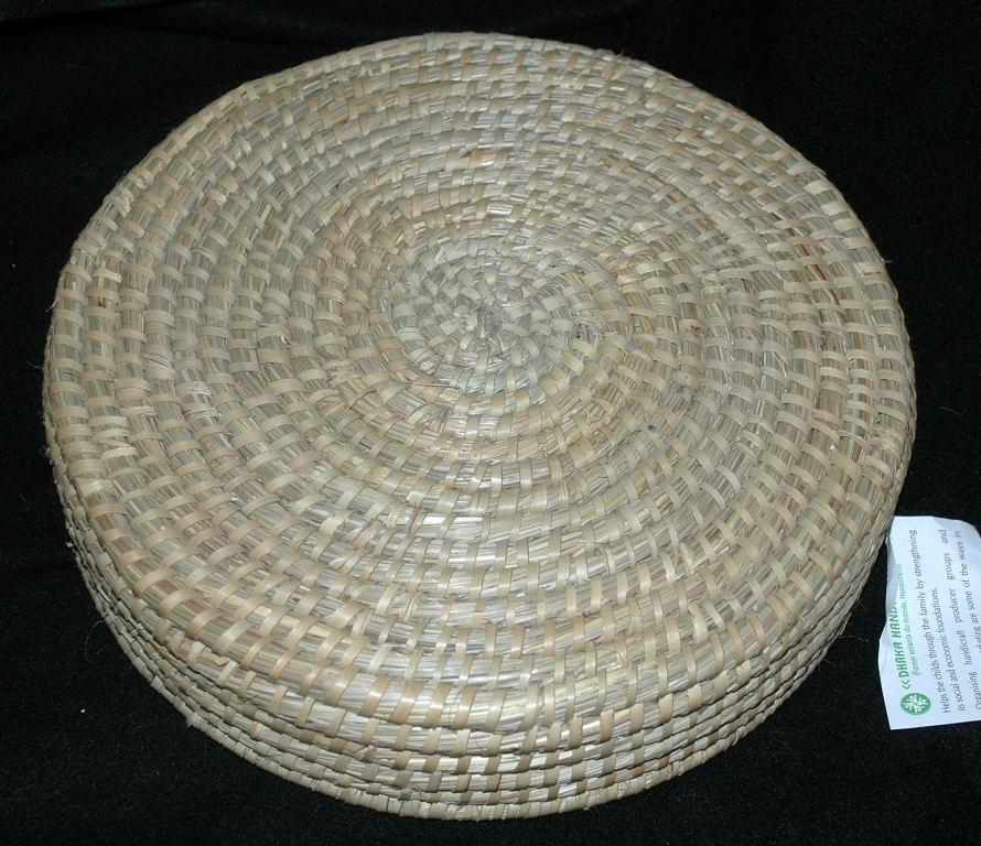 Vintage Handwoven Basket,Made in Bangladesh