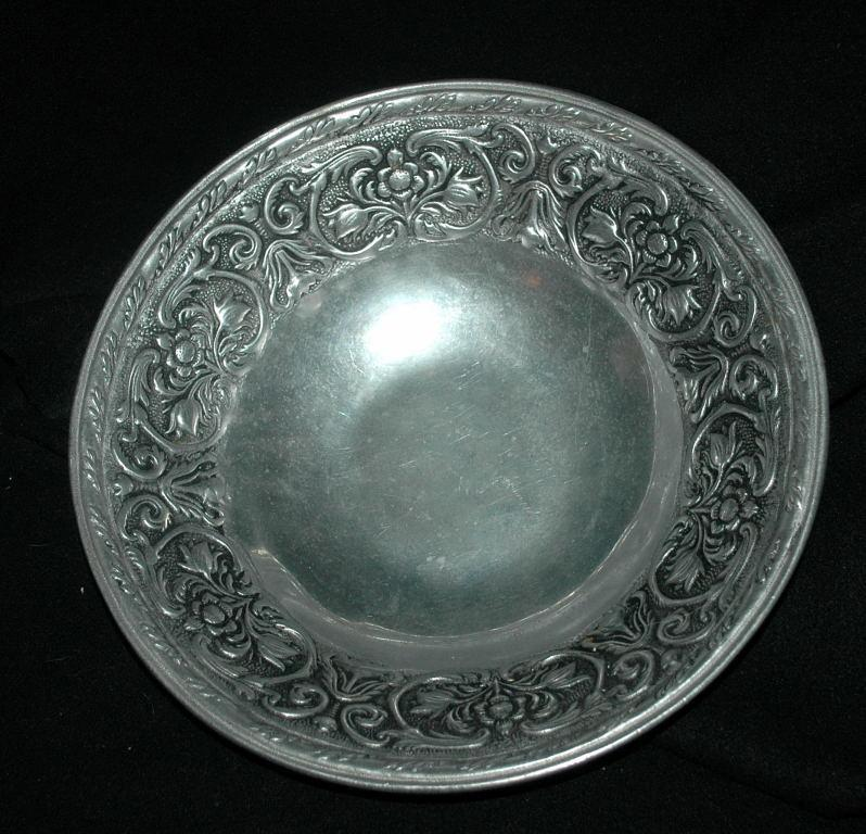 RWP The Wilton Co Pewter Bowl 12.75