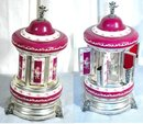 Reuge Porcelain Musical Carousel Dispenser