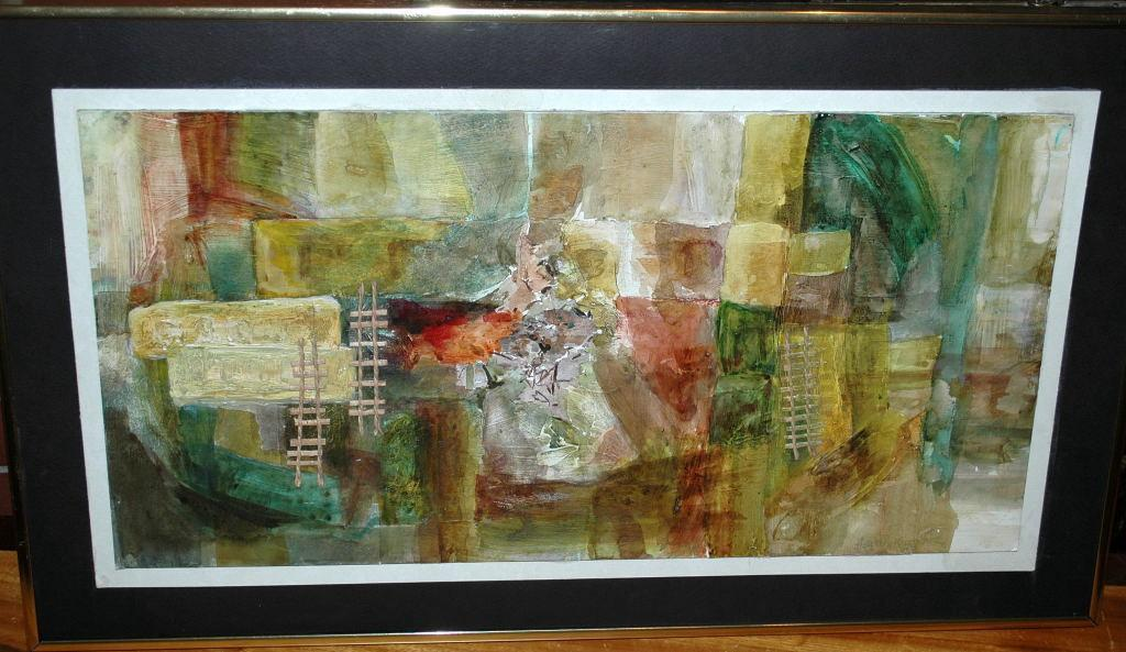 Abstract Painting Mix Media