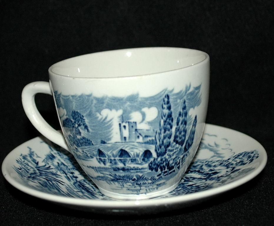 Wedgwood Countryside Tea cup Saucer and bread Plate.
