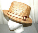 Genuine Milan Men's Fedora Hat Made in Italy sz 7