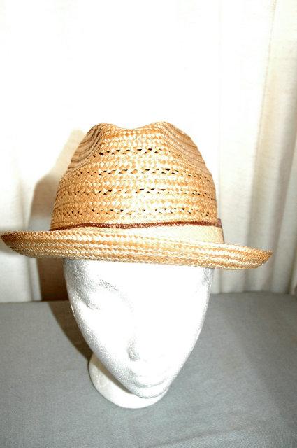 Genuine Milan Men's Fedora Hat Made in Italy sz 7