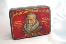 JOHAN VAN OLDENBARNEVELT - OLD TOBACCO TIN