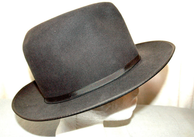 Royal Deluxe Open Road Stetson Fedora Hat 6 7/8