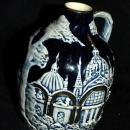 Old German Porcelain Pottery Jug Music Box