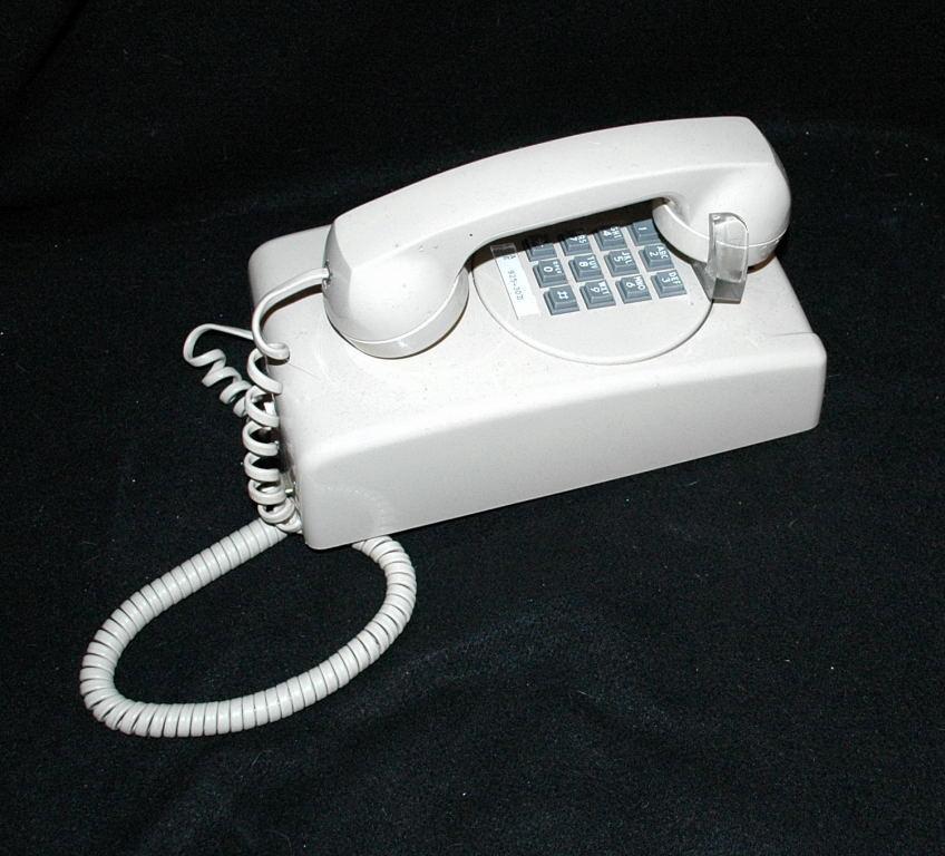 Vintage ITT Touch Tone Wall Phone Beige