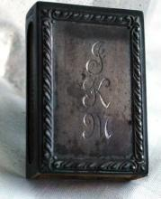 Antique Sterling MatchBoX   Safe, Holder, Vesta with Box and Striker