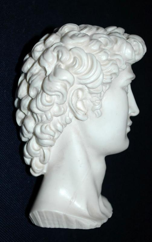 A. Giannelli Signed Bust of David 1965