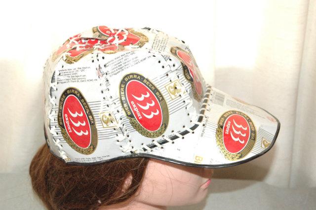 333 export Beer Can Hat