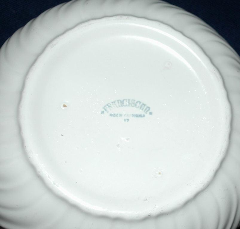 Franciscan Ware Coronado Swirl - Matte White - Serving Bowl